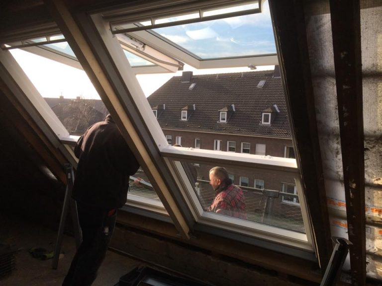 stöffges_Einbau von Dachflächenfenstern
